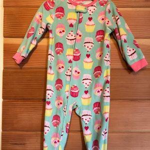 Fleece Footie Pajamas